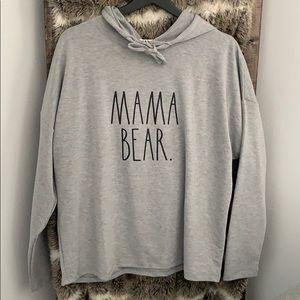 "New 🤩 Rae Dunn ""Mama bear"" hoodie"